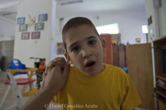 Niño del hogar niño Dios de Beit Sahour
