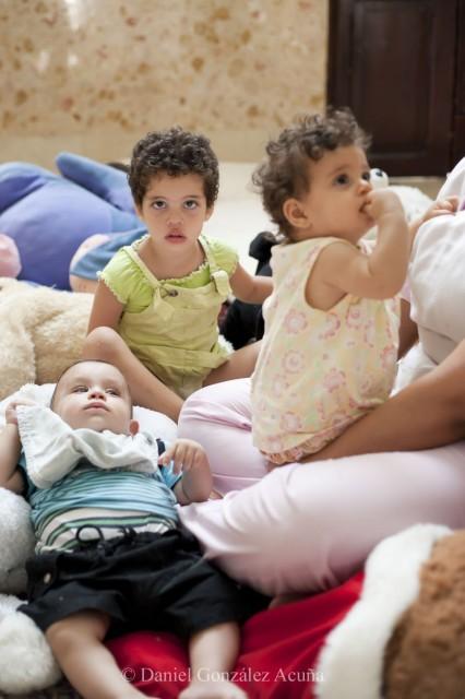 Niños de entre 1 y 3 años